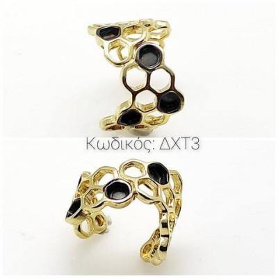 Κόσμημα ΔΧΤ3 Χειροποίητο δαχτυλίδι σε Ασήμι