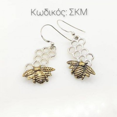 Jewelry SKM Handmade Earrings in Silver